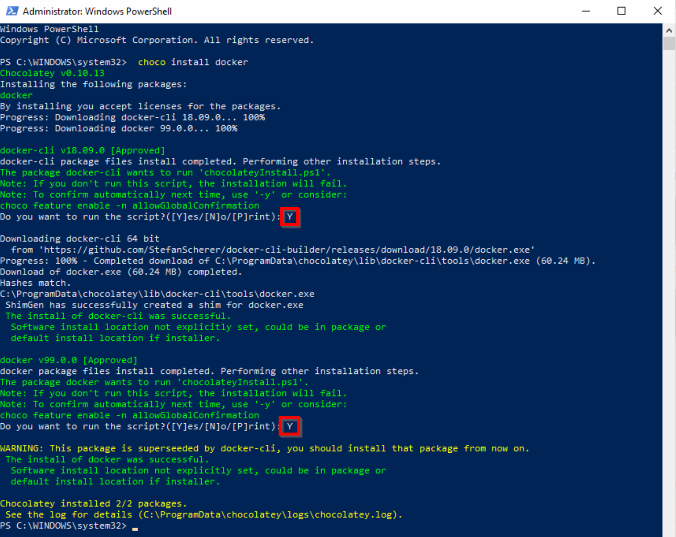 Run your first Windows Container on your Windows 10