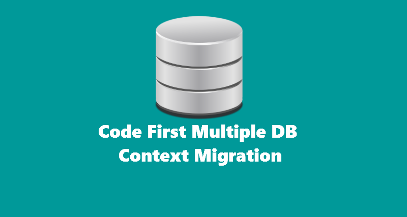 Code First Multiple DB Context Migration